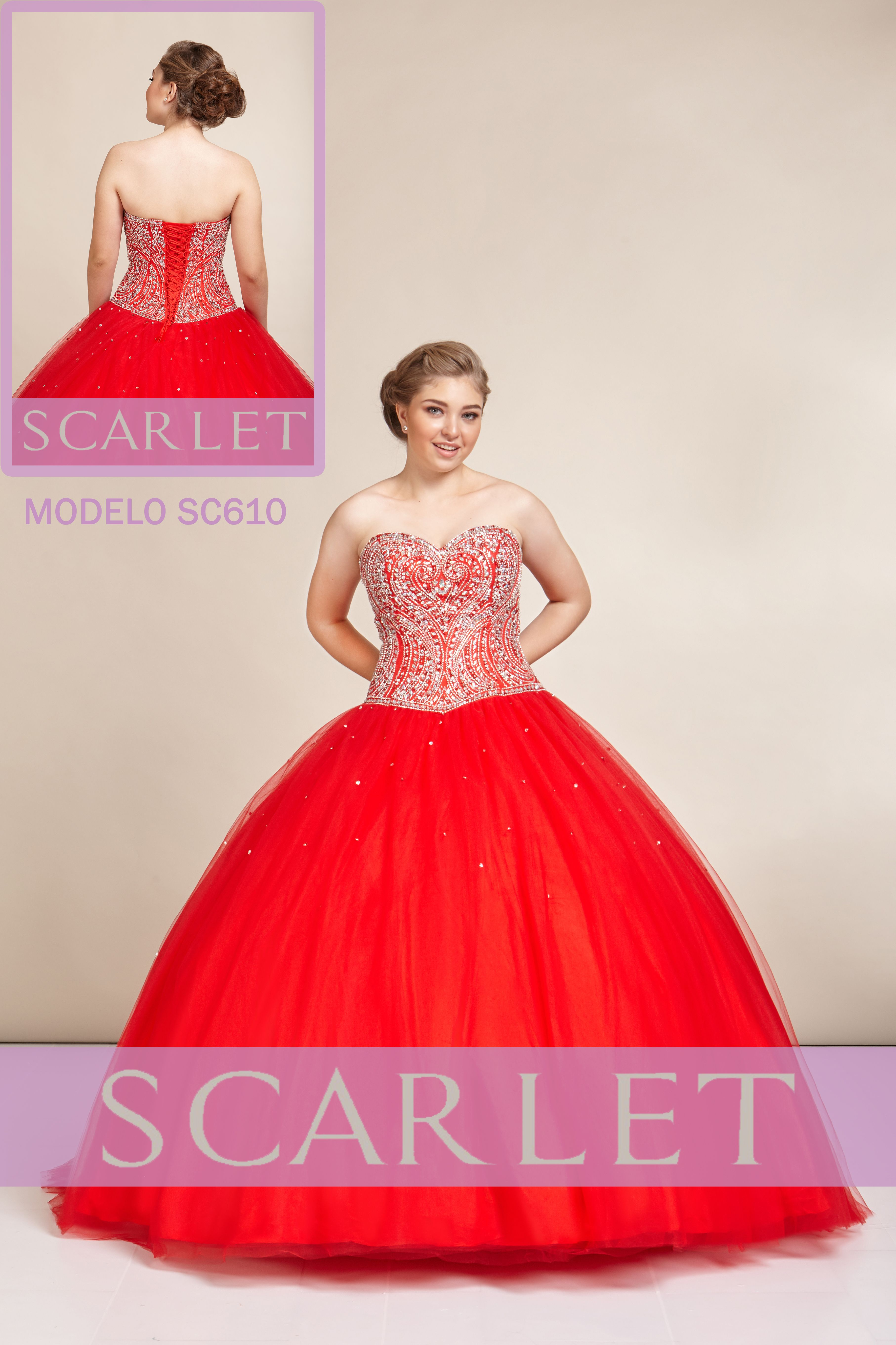 83adb2367 Asombroso vestido en corte princesa👑 strapless en escote corazón ...