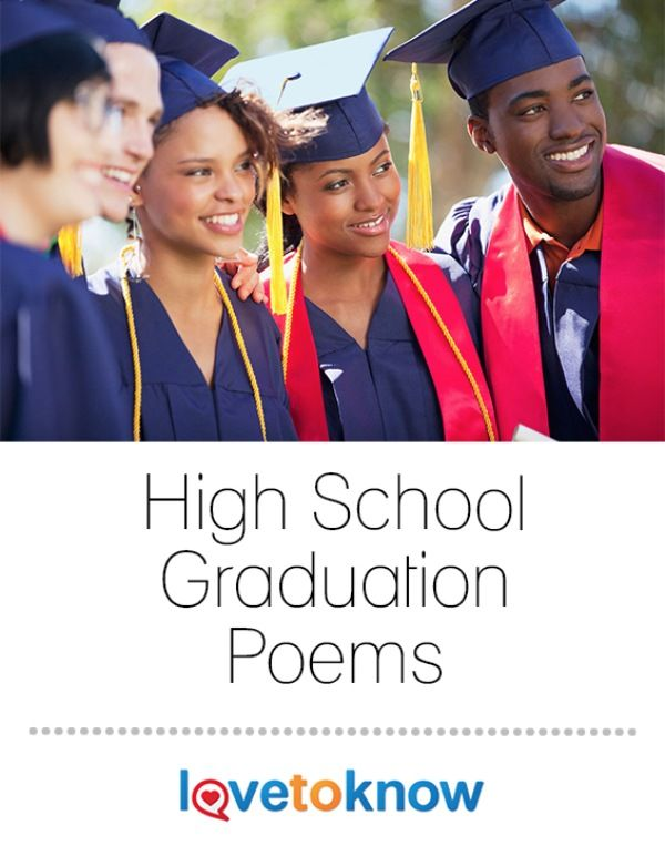 High School Graduation Poems | Graduation poems, High ...
