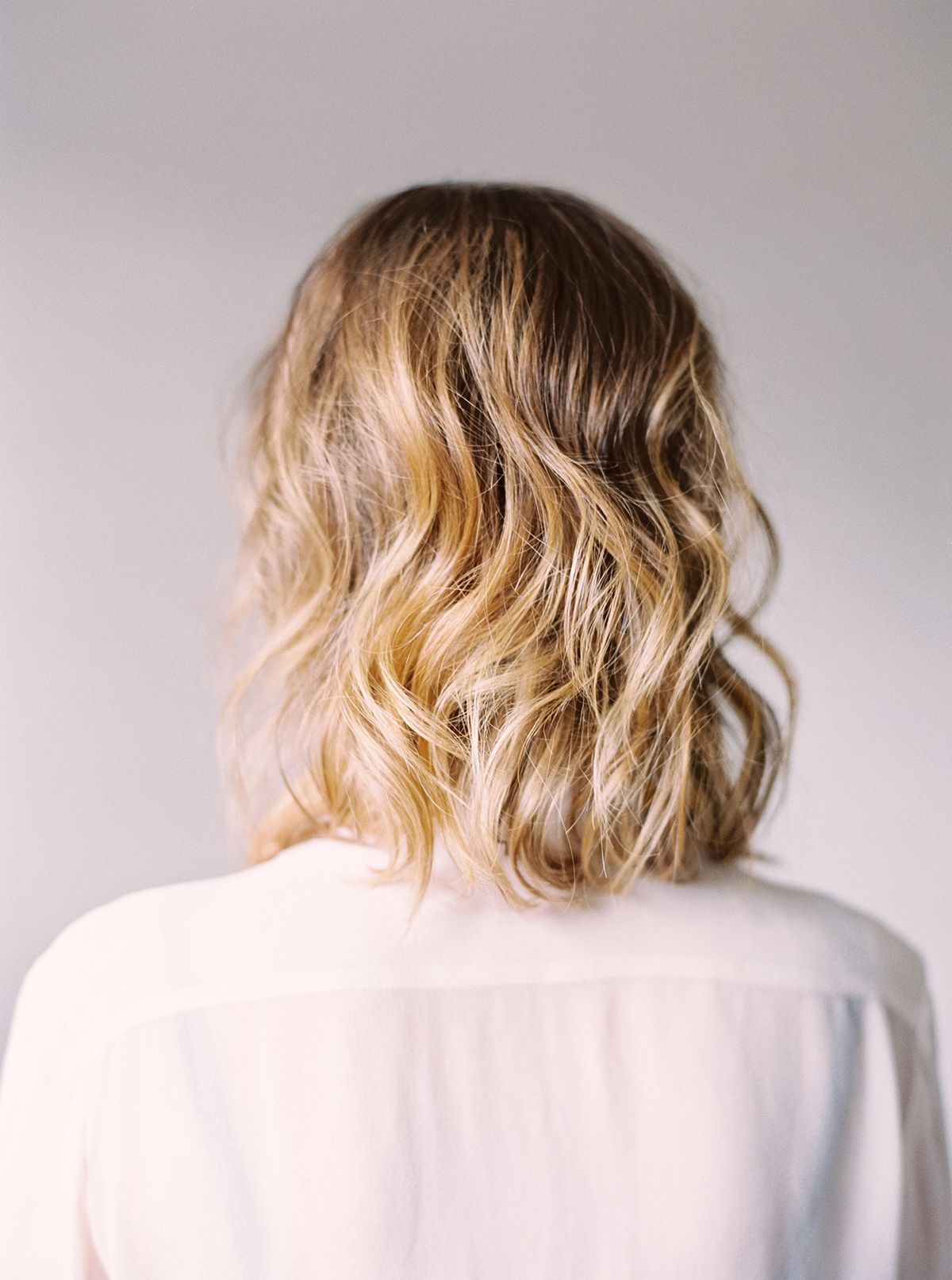 Three ways to style a long bob long bob lob and beach waves