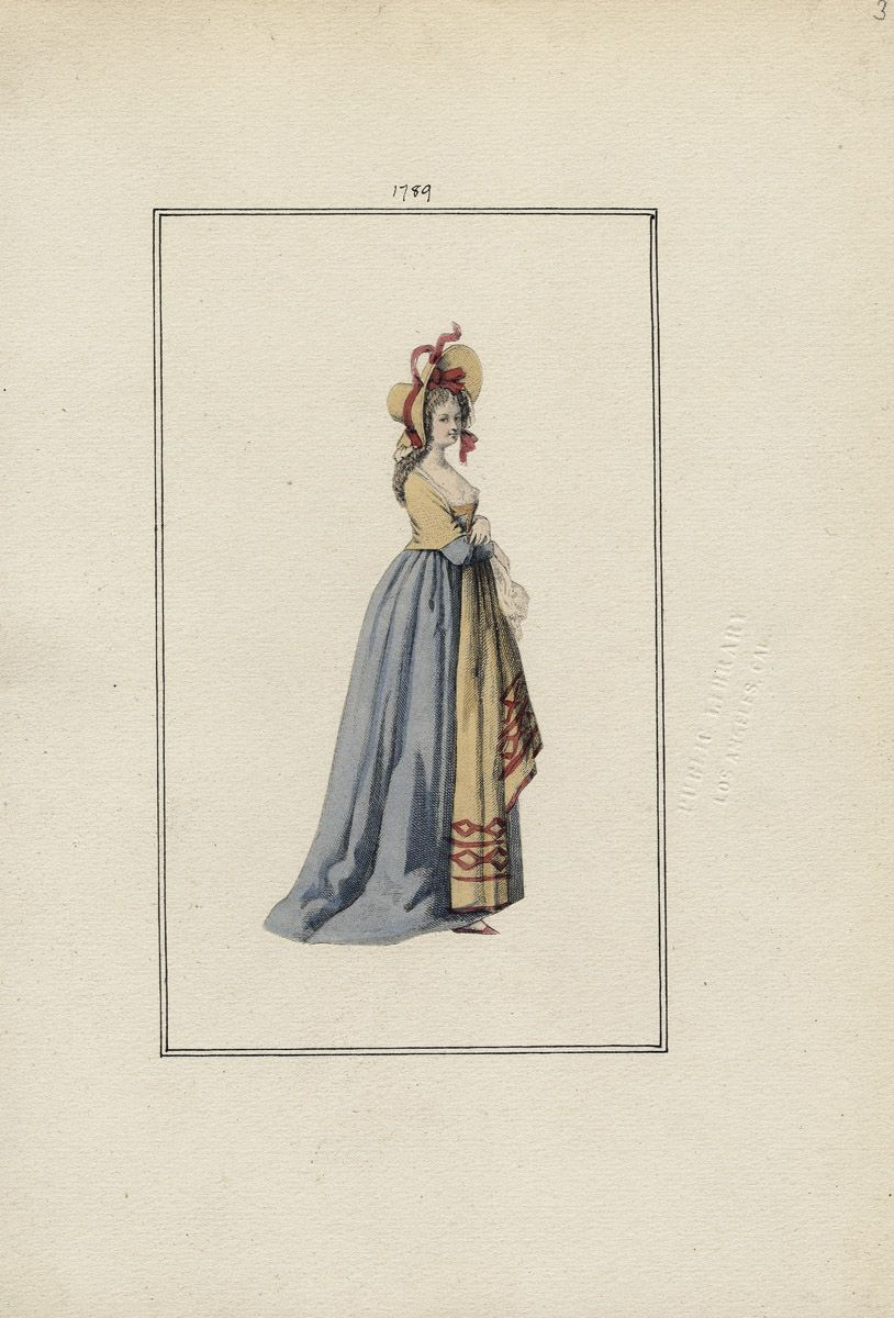 January 1, 1789 Casey Fashion Plates Detail | Los Angeles Public Library