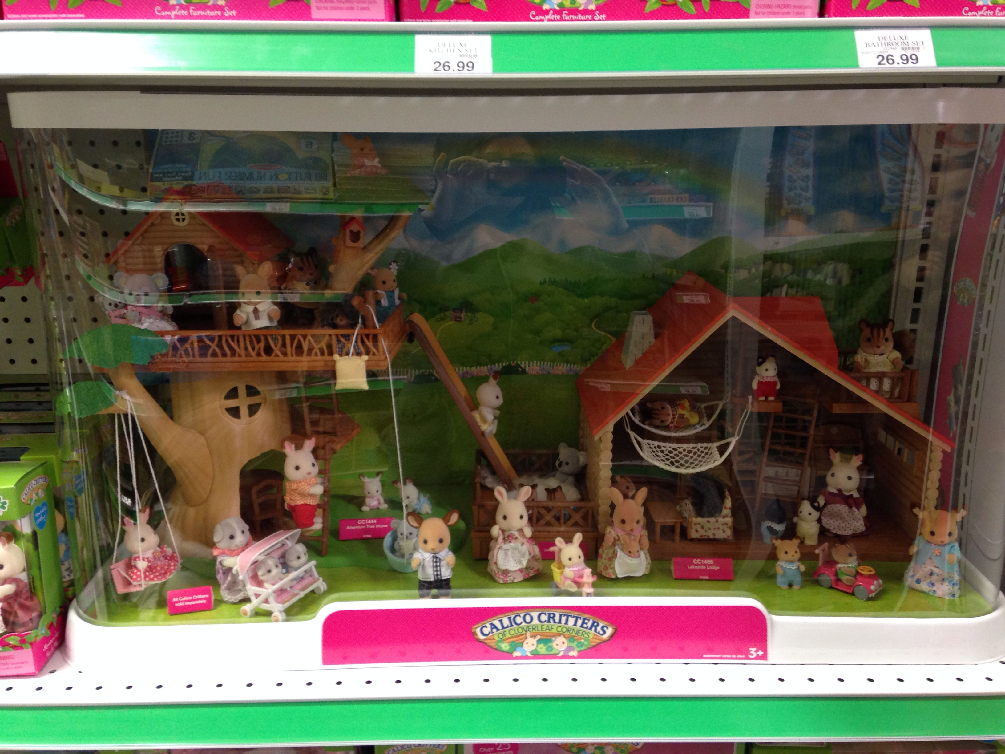 Find great deals on eBay for calico critters toys. Shop with confidence.