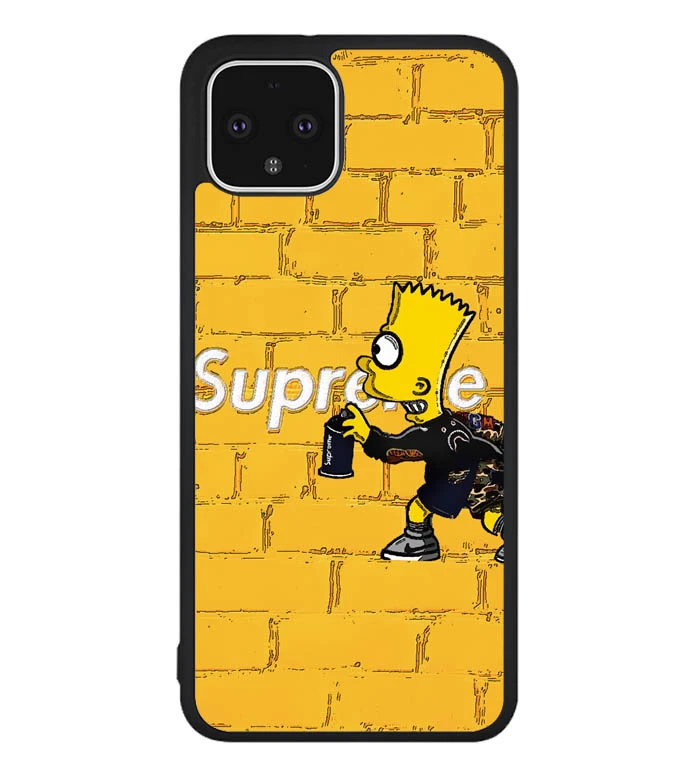Supreme In Yellow Wall P0854 Google Pixel 4XL Case in 2020