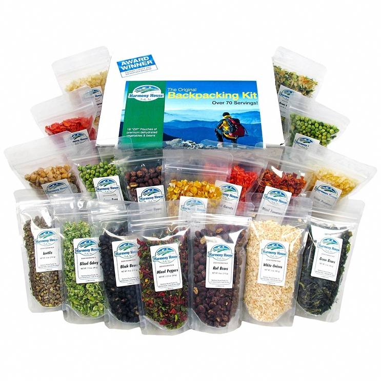 Backpacking Kit (18 ZIP Pouches) | Dehydrated Food Camping