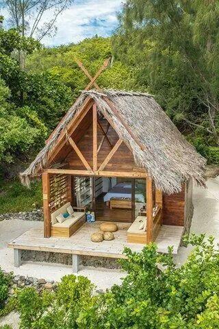 Pin On Outdoor Small house design nipa hut