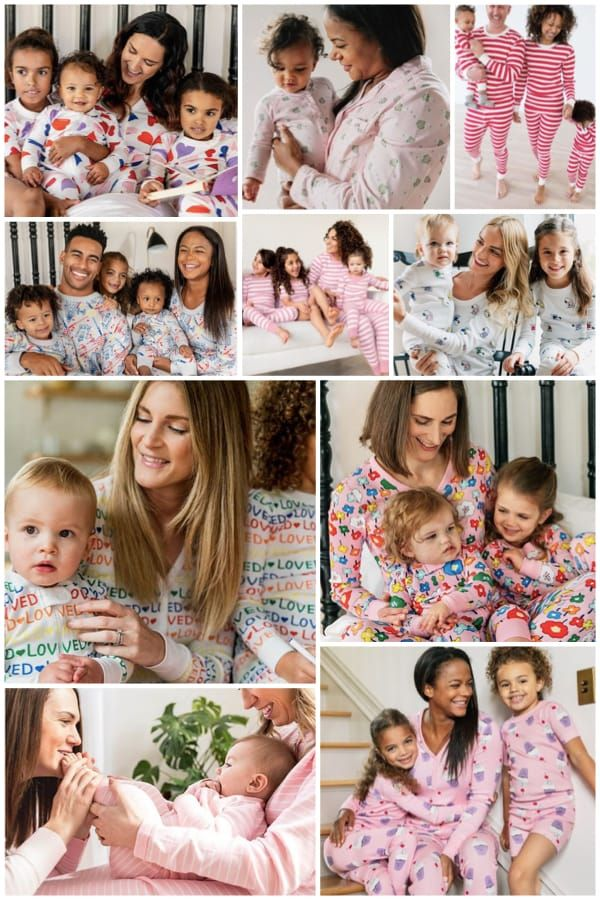 676944412aec Family Matching Mommy Daddy and Me Valentines Day Pajamas