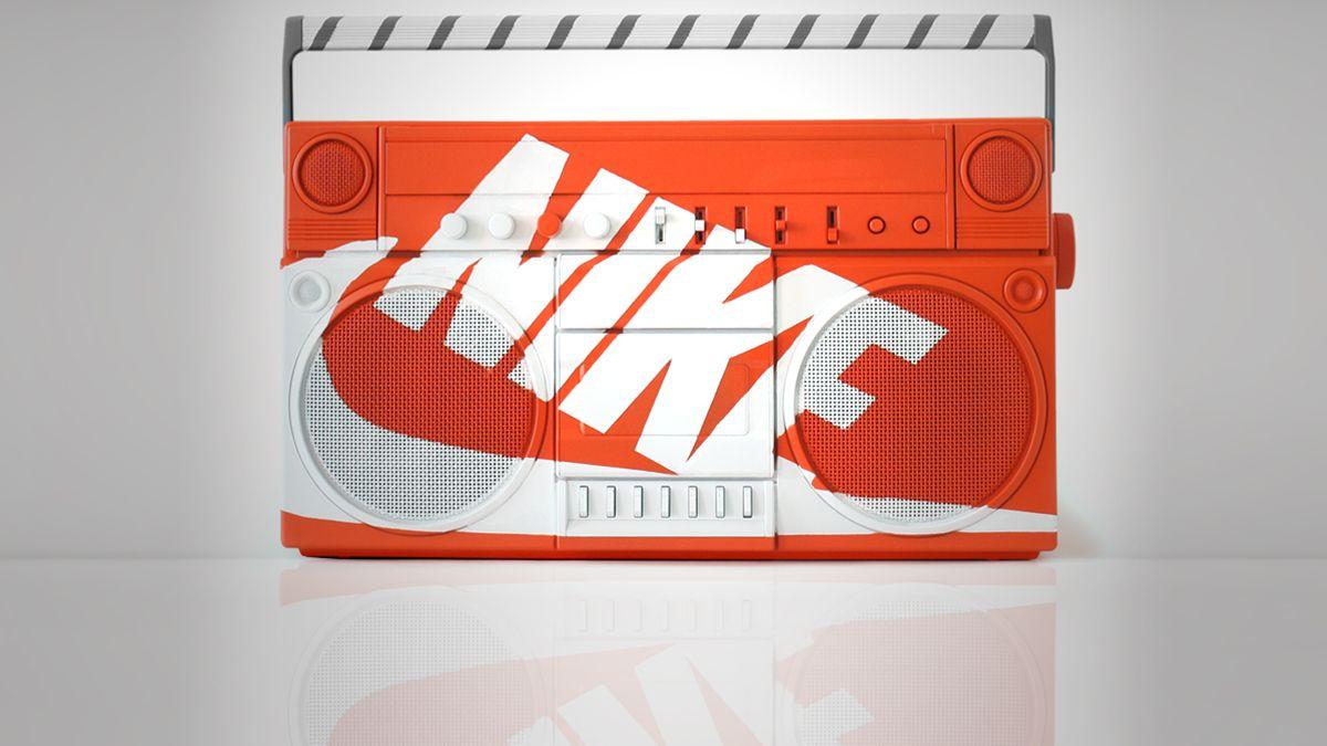 Nike Boombox by Antonio Brasko