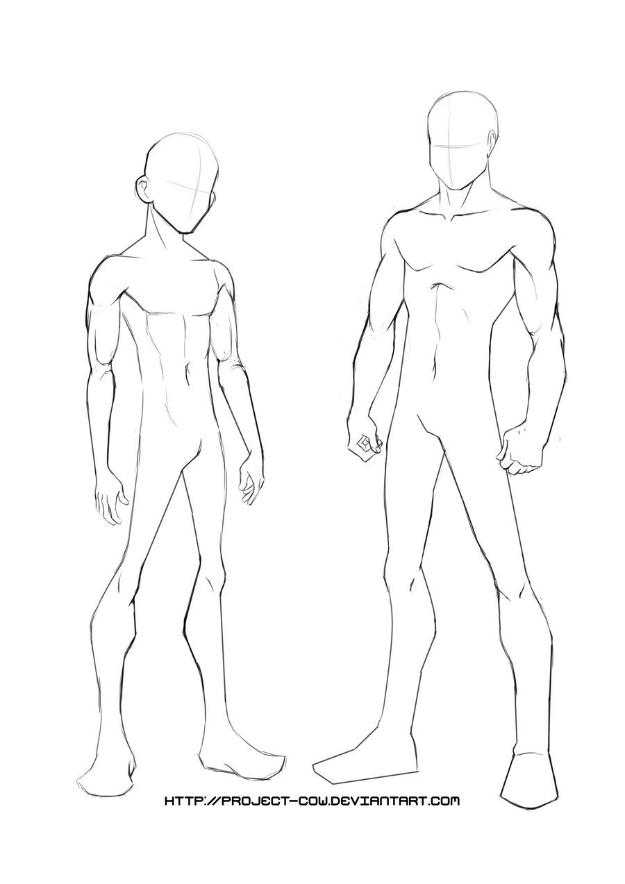 Yj Body Template By Project Cow D3c2emu Jpg 900 1273 Body Drawing Male Body Drawing Body Template