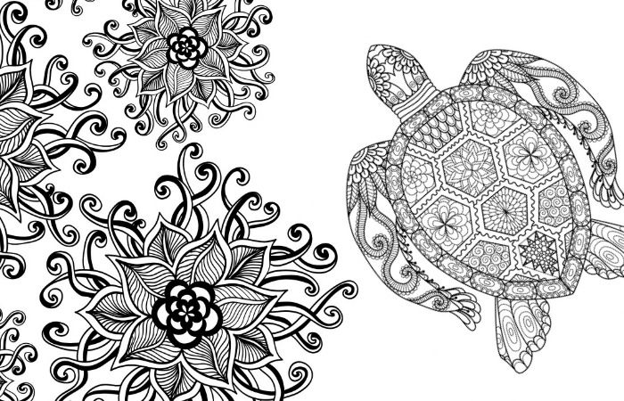 20 Gorgeous Free Printable Adult Coloring Pages Adult coloring