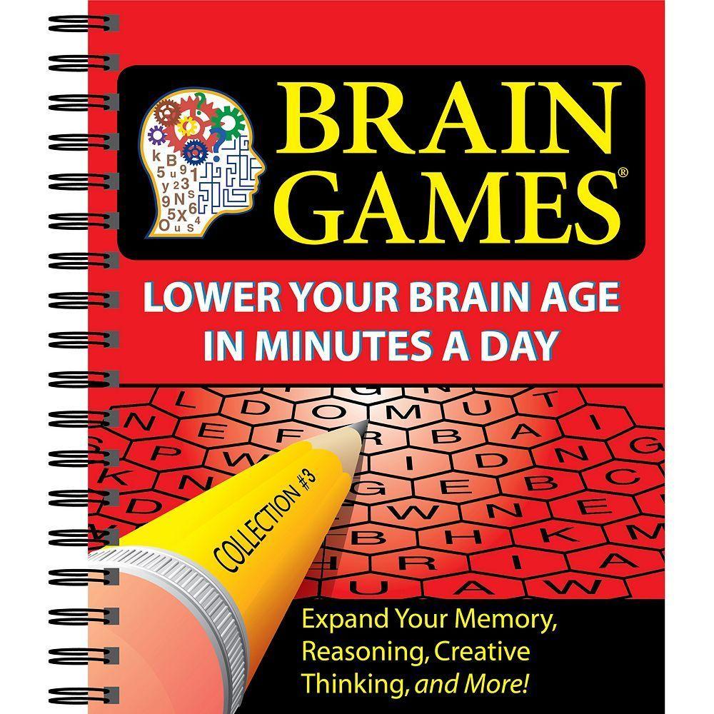 Brain Games 3 Brain games, Puzzle books, Your brain
