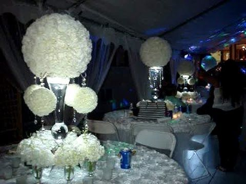 Rent Rose Ball Pomander Centerpieces In Ny Nj Ct Pa Call For A Free Price Quote 631 421 2286 Pomander Centerpiece Sweet 16 Candelabra Centerpiece Rentals