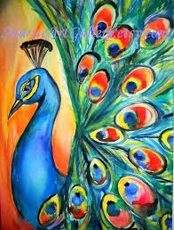 Image Result For Peacock Art Projects