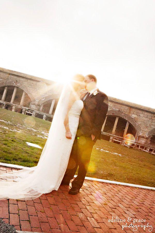 Fort Adams Newport, RI Wedding : :Marie + Shad