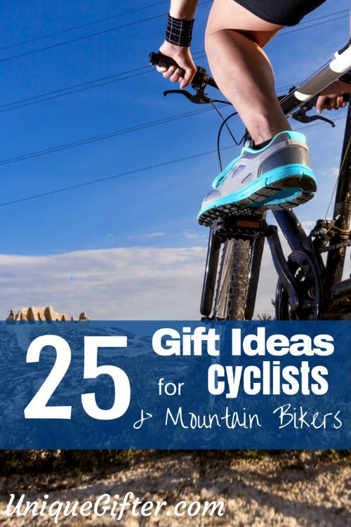 25 Gift Ideas for Mountain Bikers and Cyclists - from stocking stuffers to big birthday presents