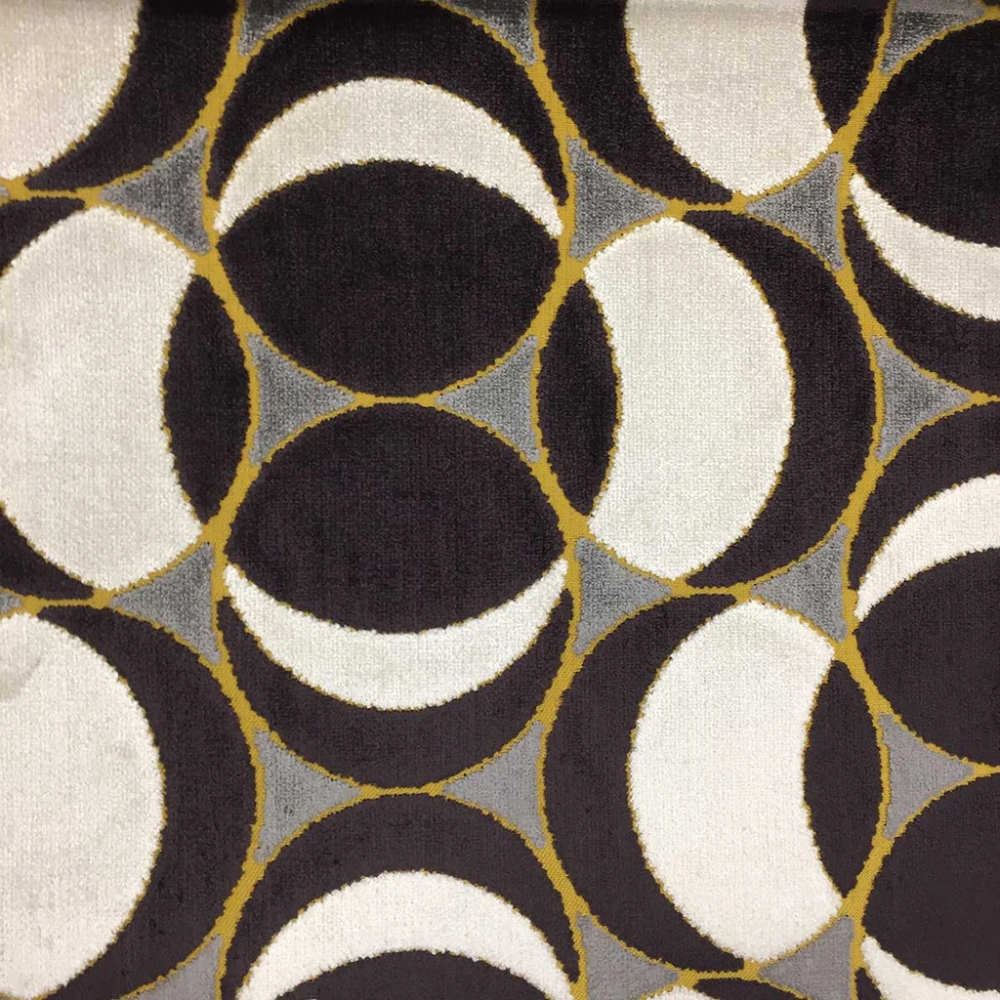Morgan - Modern Pattern Cut Velvet Upholstery Fabric by the Yard - Available in 9 Colors #velvetupholsteryfabric