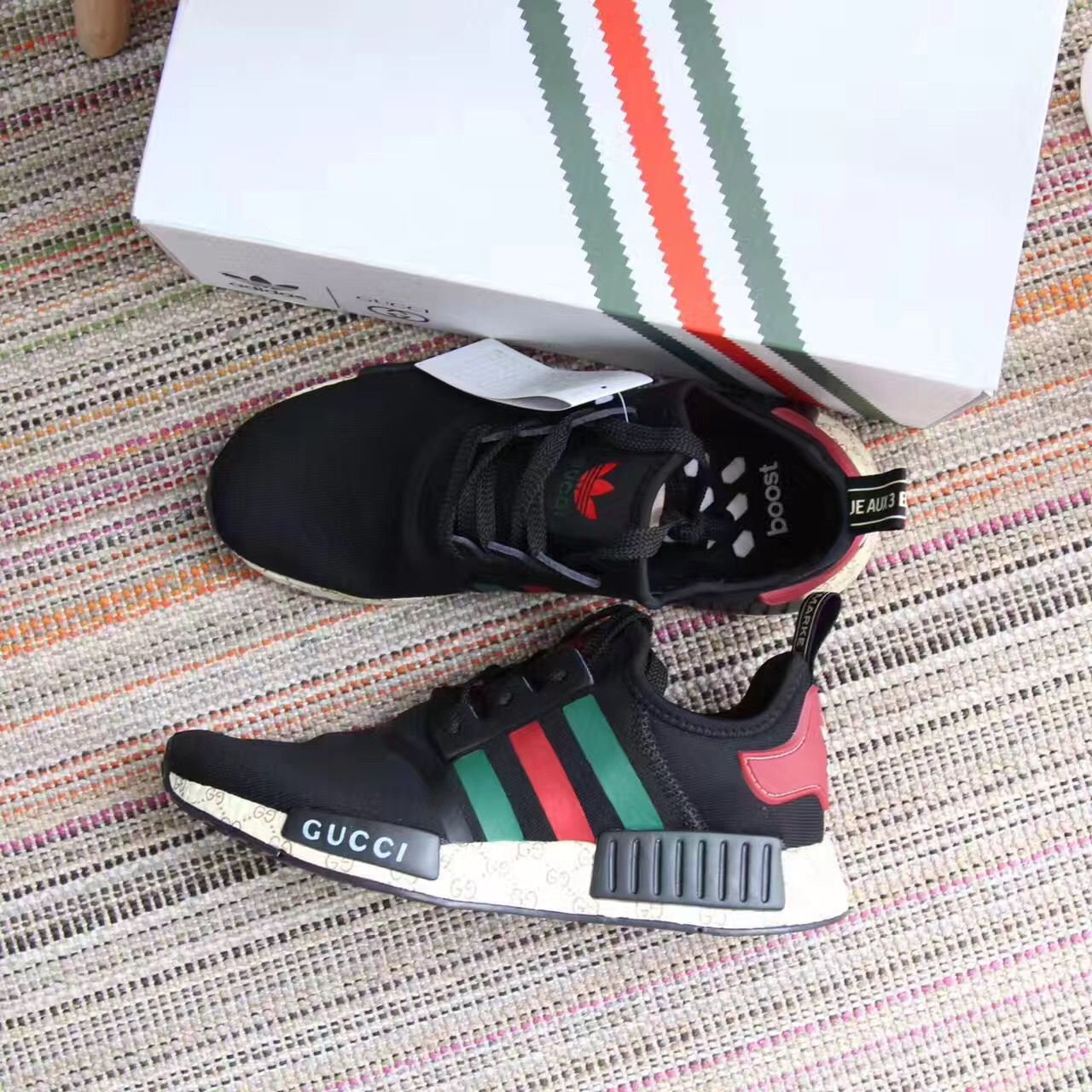 buy popular 1837e c54e7 Adidas   Gucci woman man unisex sport sneakers shoes