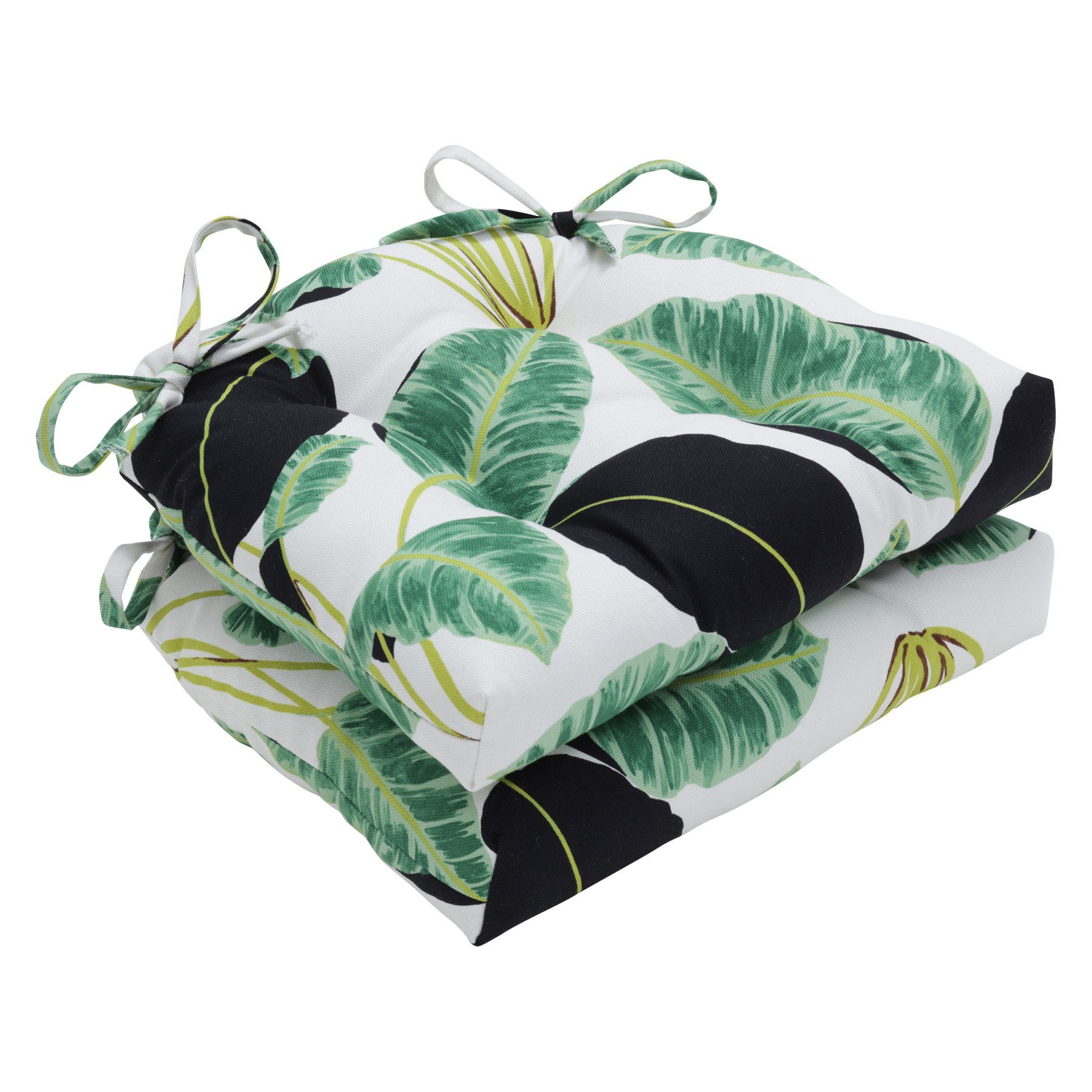 Pillow perfect hojas cubanas x in indoor dining chair