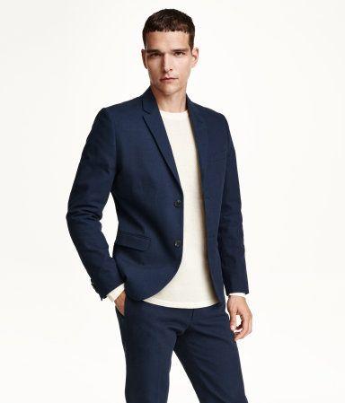 JOHN- H&M Cotton Blazer $79.99