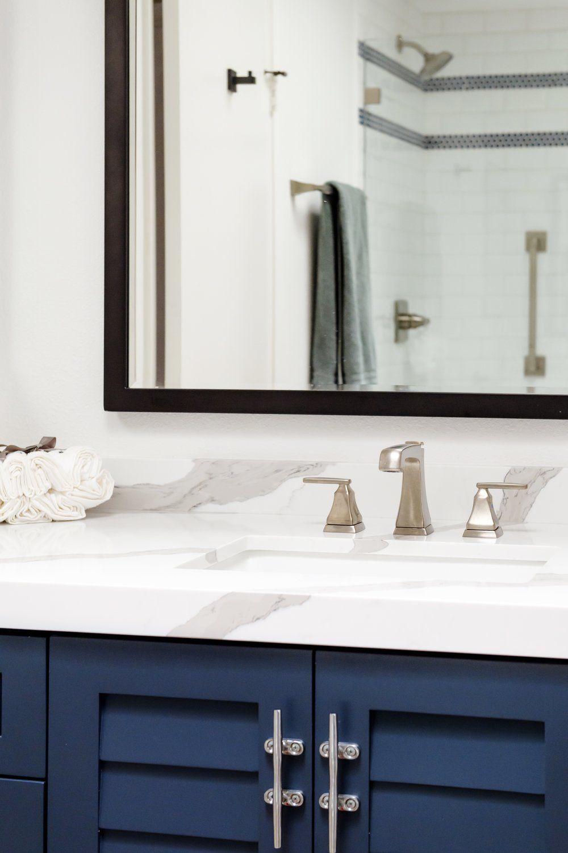 Savvy Interiors Bathroom Remodels With Pattern Wallpaper Hot Pink Trees    SavvyInteriors.com
