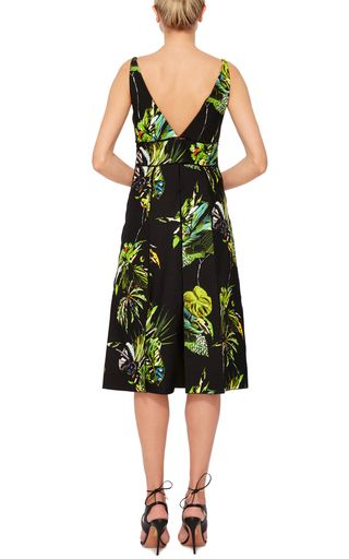 Sleeveless V Neck Dress by PROENZA SCHOULER Now Available on Moda Operandi