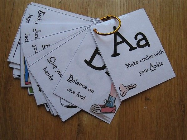 yes! kinesthetic movement with alphabet. I've been looking for this for the longest time!