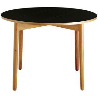 Buy Habitat Suki Black Folding Table - Oak at Argos.co.uk - Your Online Shop for Dining tables.