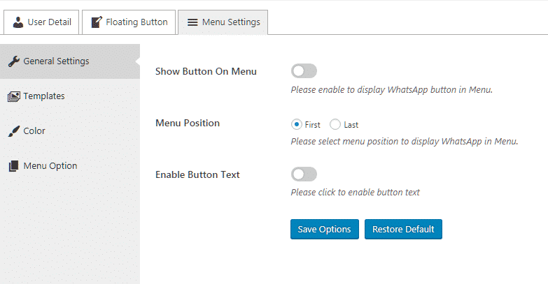 How to add Viber/Messenger/Whatsapp/Skype Contact Button on