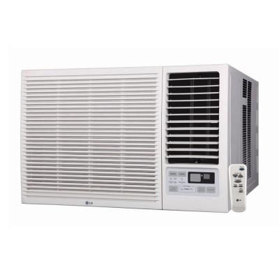 Lg Electronics 18 000 Btu Window Air Conditioner With Cool Heat And Remote Lw1814hr At The Home De Window Air Conditioner Room Air Conditioner Air Conditioner