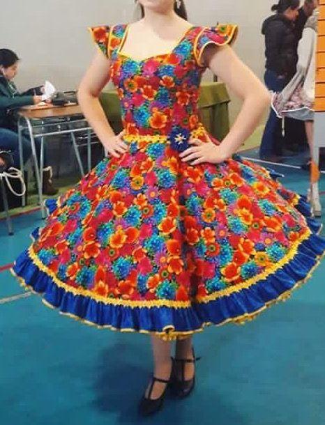 Pin von Familia Fica Pérez auf Vestidos de china y huasa | Pinterest ...