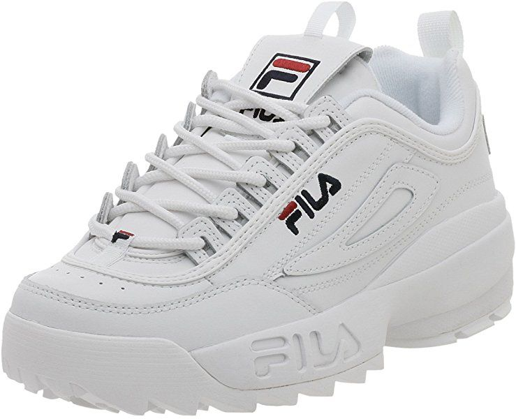 Amazon.com | Fila Men's Disruptor II Sneaker, White/Peacoat ...