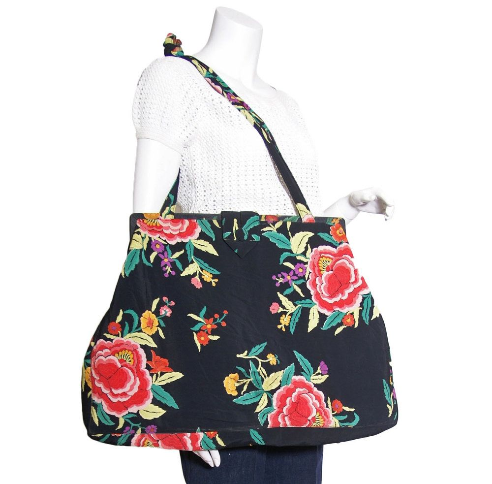 1940s Oversized Floral Print Purse Womens Purses Leather Crossbody Bag Small Purses And Handbags