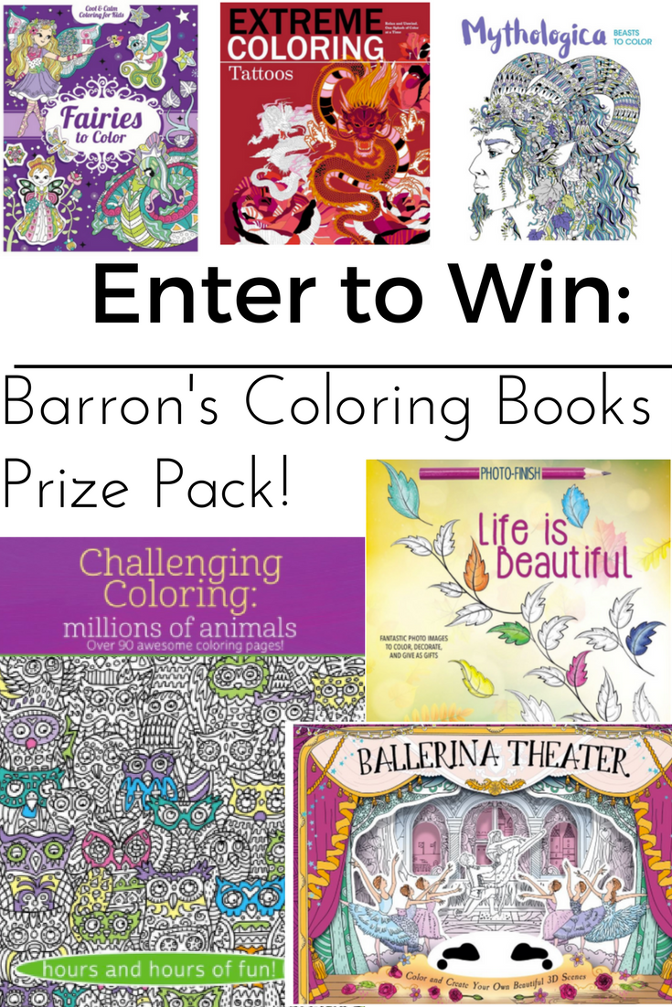 Unleashing Adult Creativity With Barron's Coloring Books and