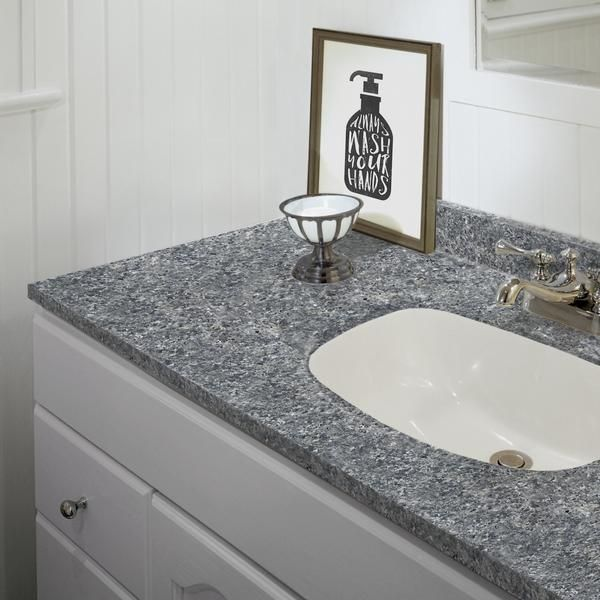 Giani Slate Painted Vanity Countertop Detail Kitchen Remodel
