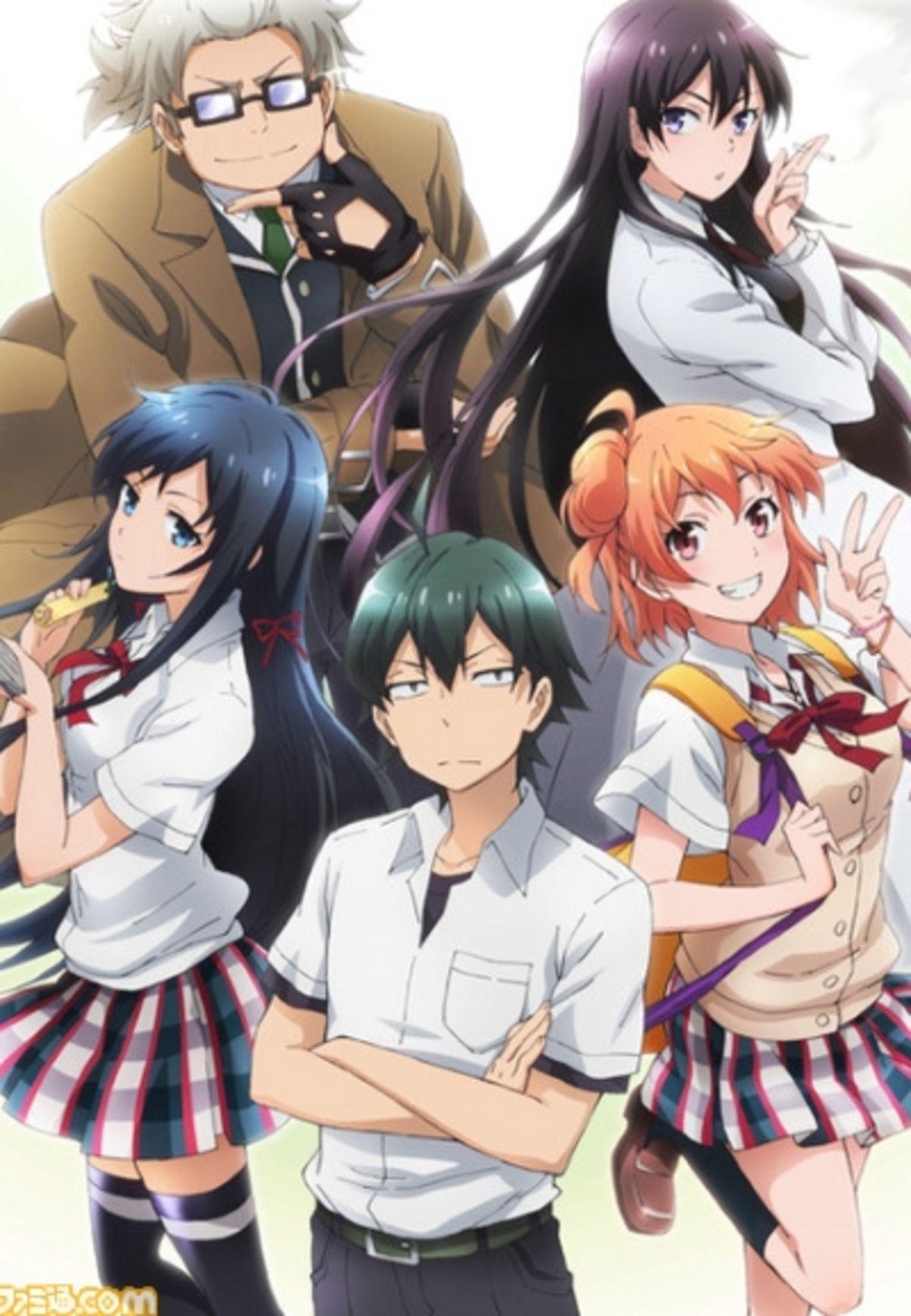 oregairu Anime, Anime love, Anime english