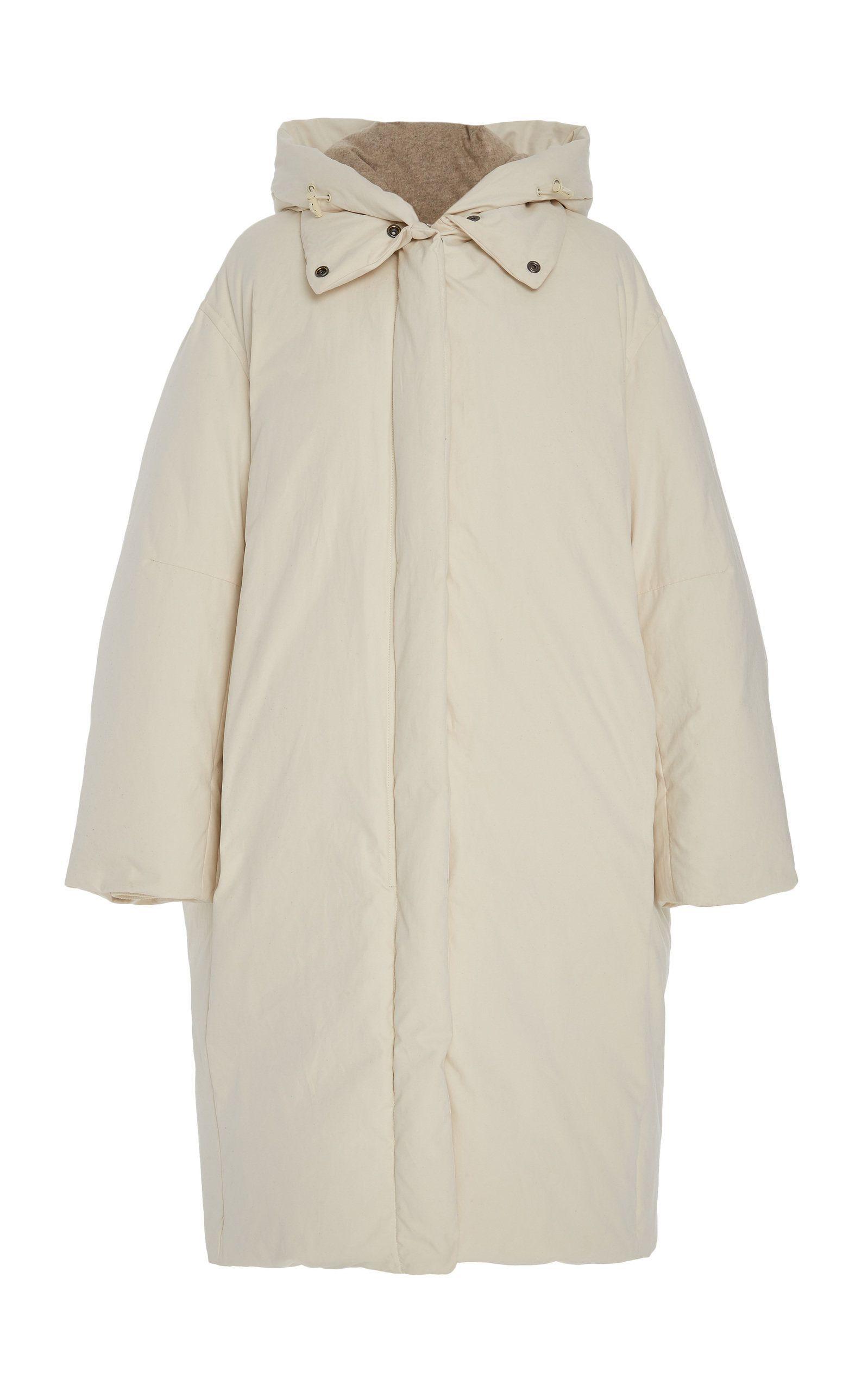 Vince Oversized Hooded Shell Down Coat Down Coat Coat White Puffer Coat [ 2560 x 1598 Pixel ]