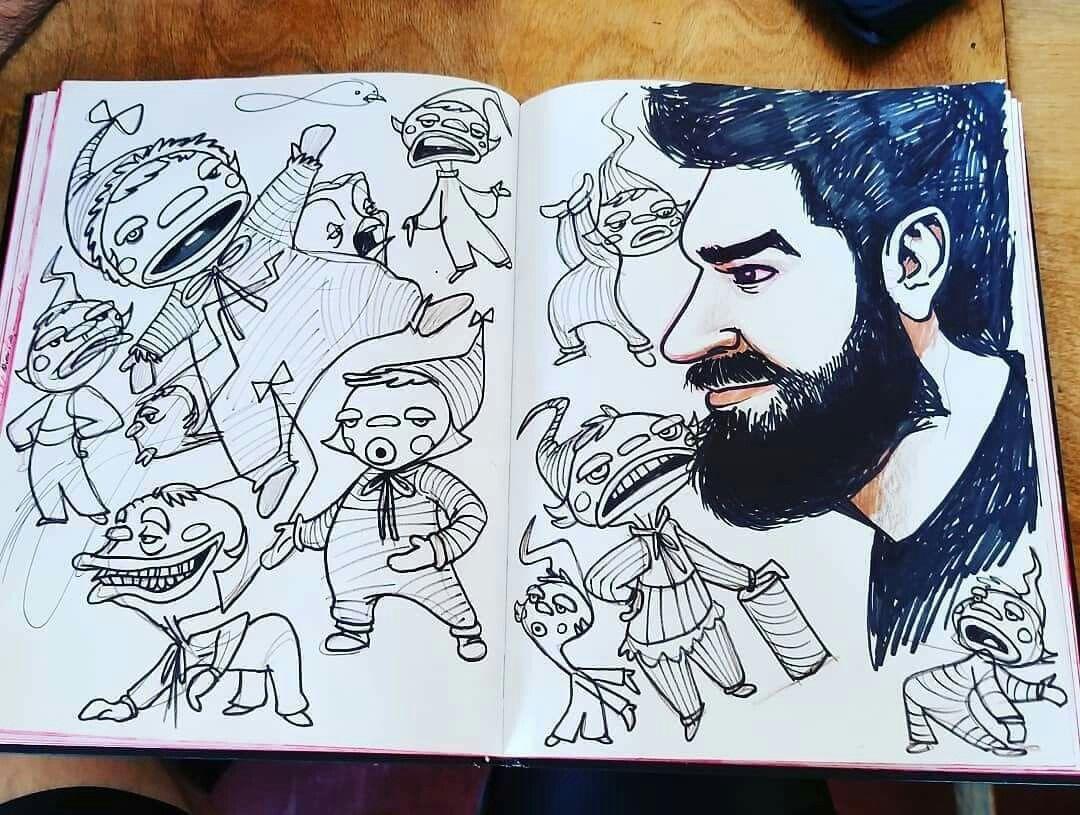 Wayne Berg Doodling Repost Wayneberg Do Waynimation