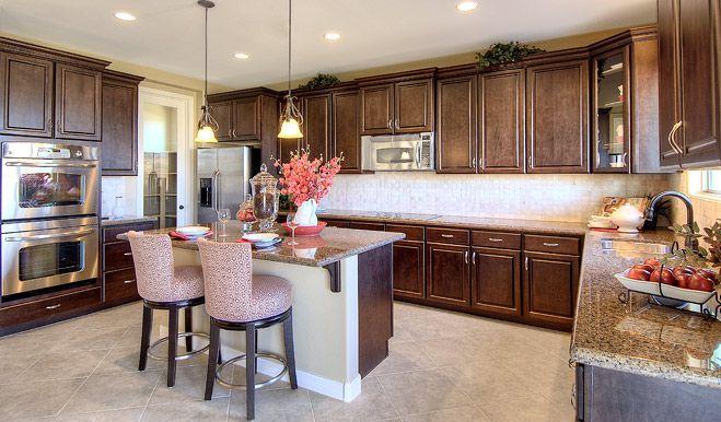 Richmond American Birch Kitchen Cabinets