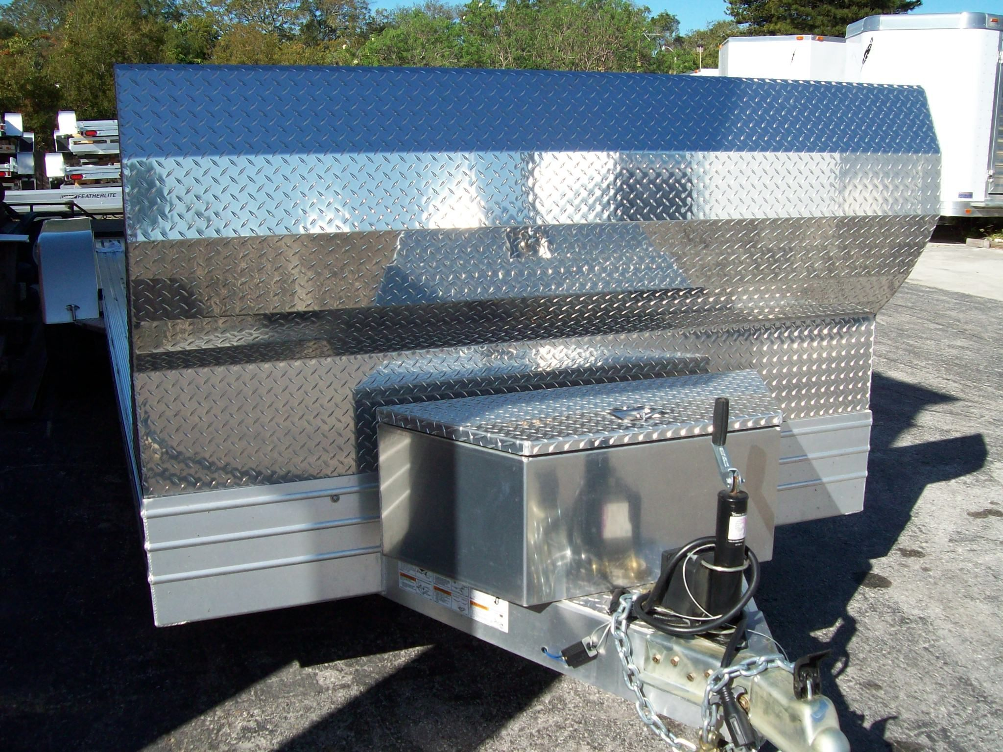 Featherlite 3110 Car Haulers, Options and accessories - Auto Carrier ...