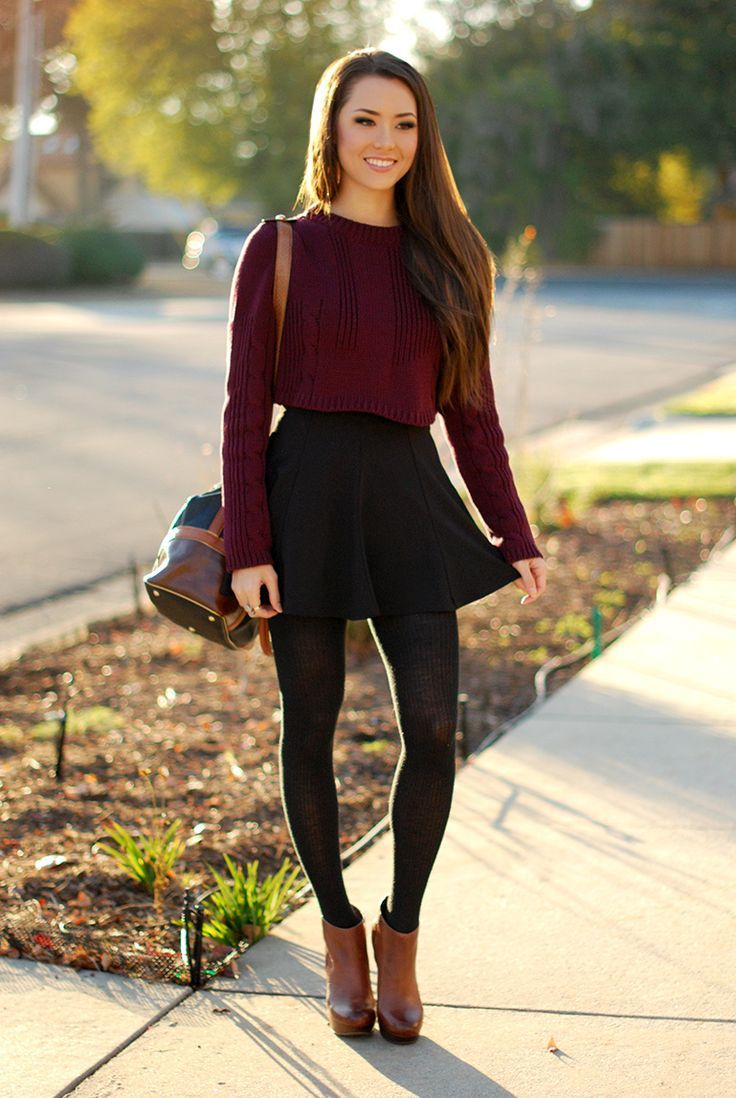 Fall-Dress-Outfit-ideas-5 | Awesome Fall Dresses Ideas | Pinterest ...