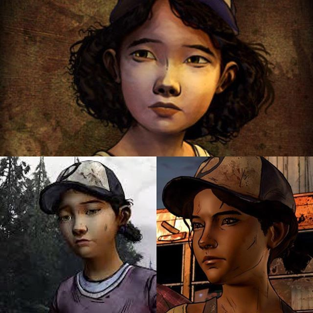 Telltalegames Clementine From Season 1 3 Walkingdeadgame