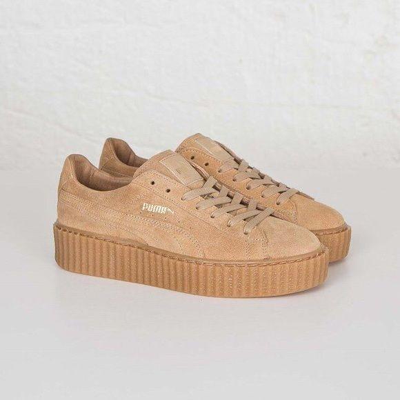 12d2ef583f Puma Shoes - ISO: PUMA Rihanna X fenty nude creepers   PUMA   Puma ...