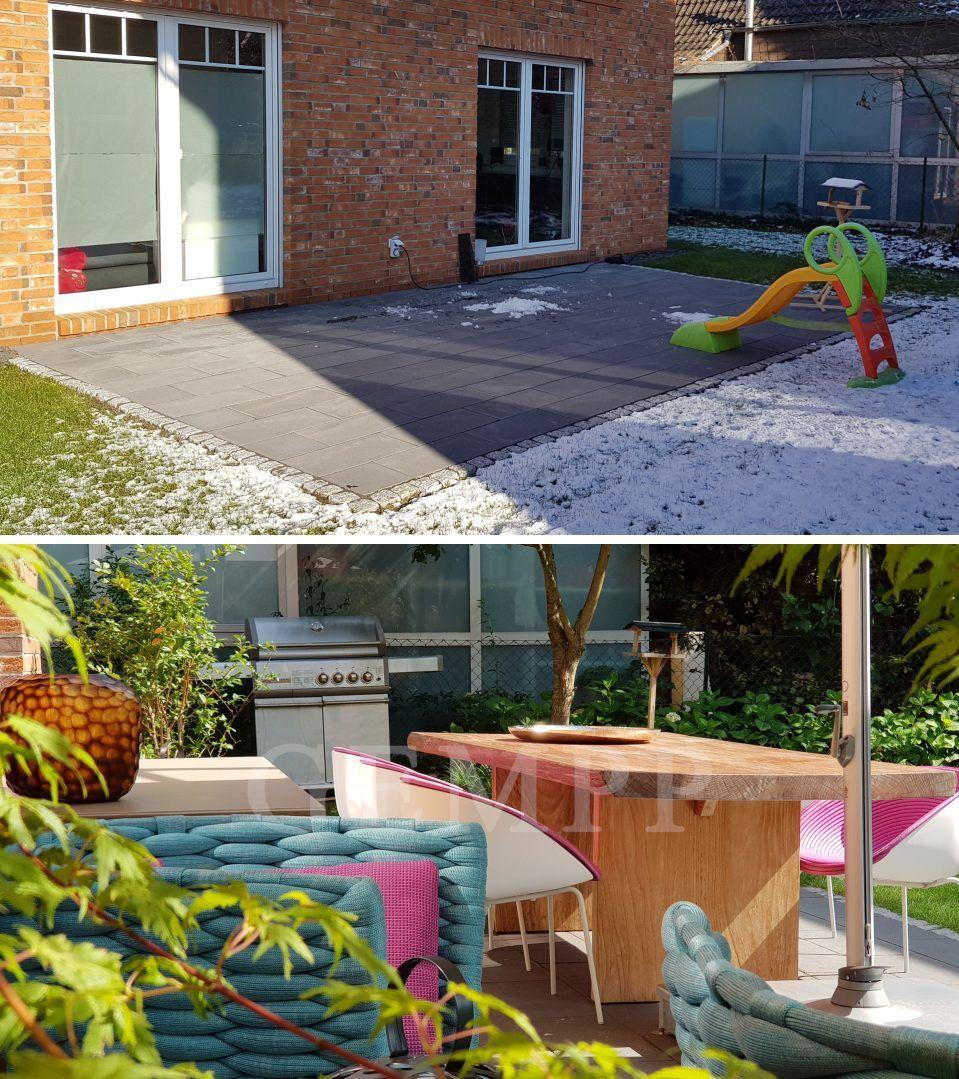 Vorher Nachher Bilder Garten Gartendeko Modern Garten Design Gartengestaltung