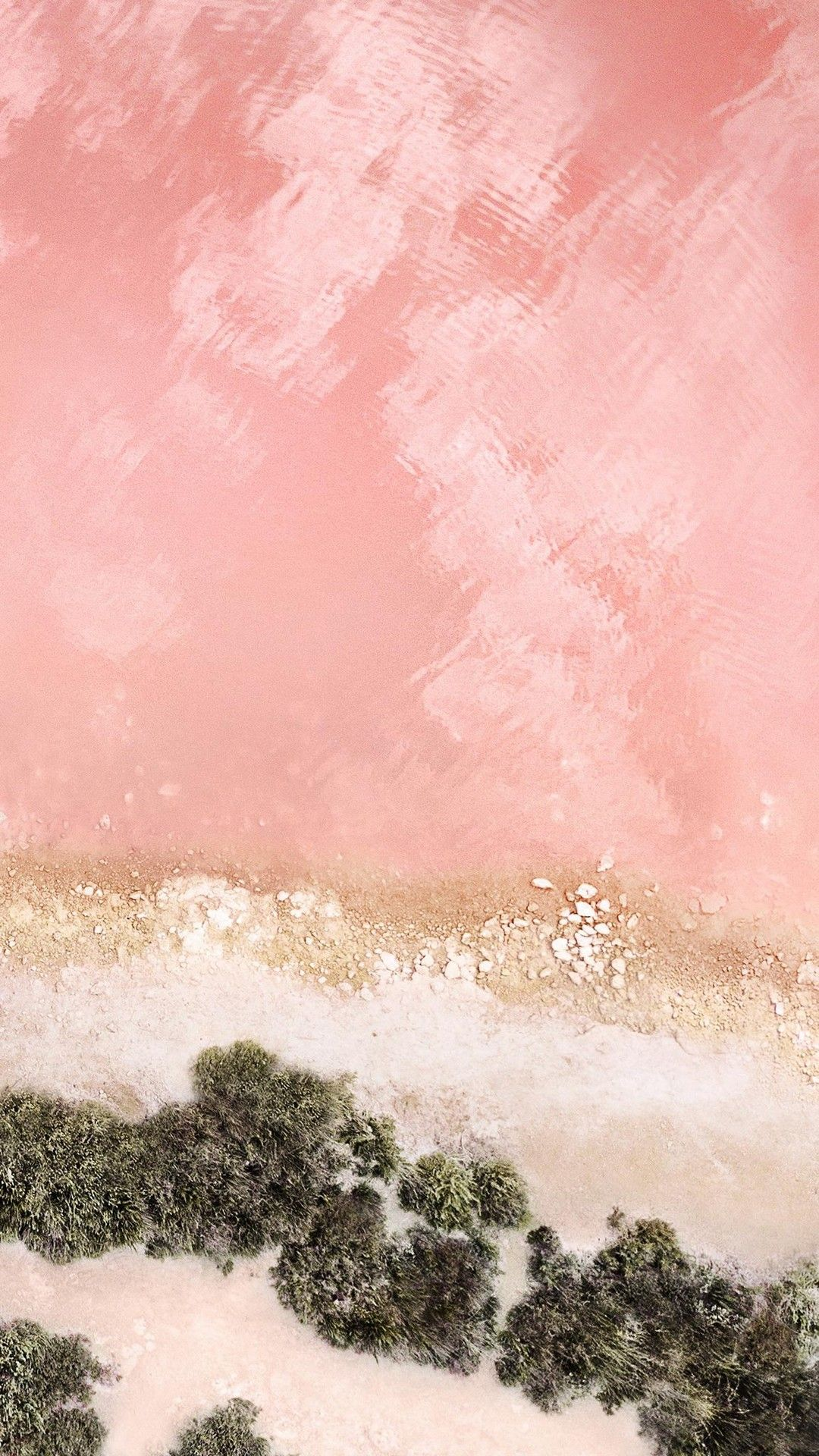 iOS 11 Pink Wallpaper iPhone l o c k s c r e e n s