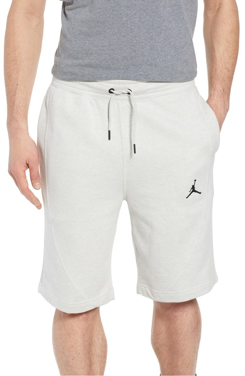 f1c8655c21102e Nike Jordan Wings Fleece Shorts at  Nordstrom. French terry triblend shorts  strike the perfect balance of comfort for relaxing in leisure or playing  hard on ...