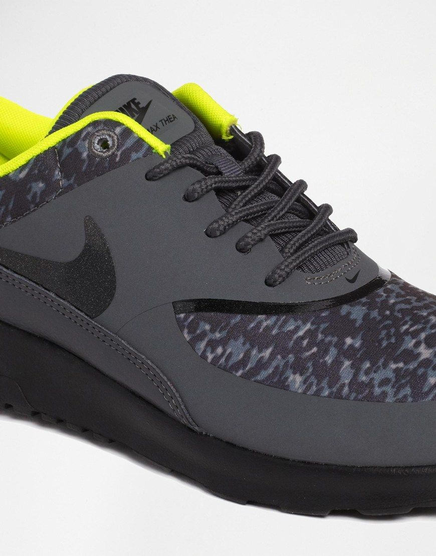 Nike Air Max Thea Formateurs Dimpression Noir