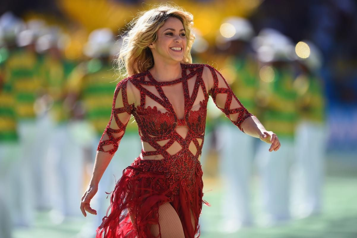 2014 Fifa World Cup Closing Ceremonies Shakira Shakira Photos Fifa
