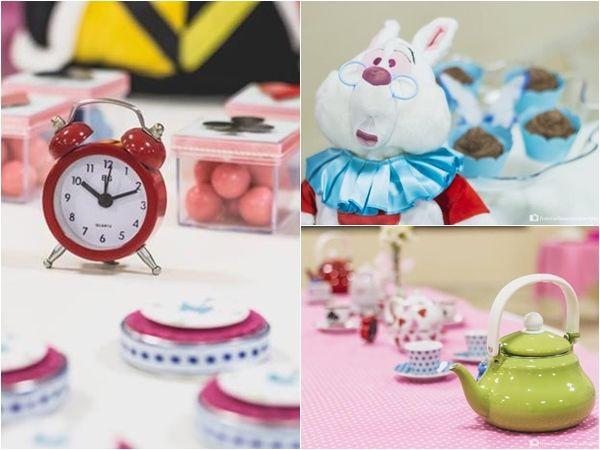 C mo decorar fiestas infantiles de alicia en el pa s de - Decorar mesas para fiestas ...