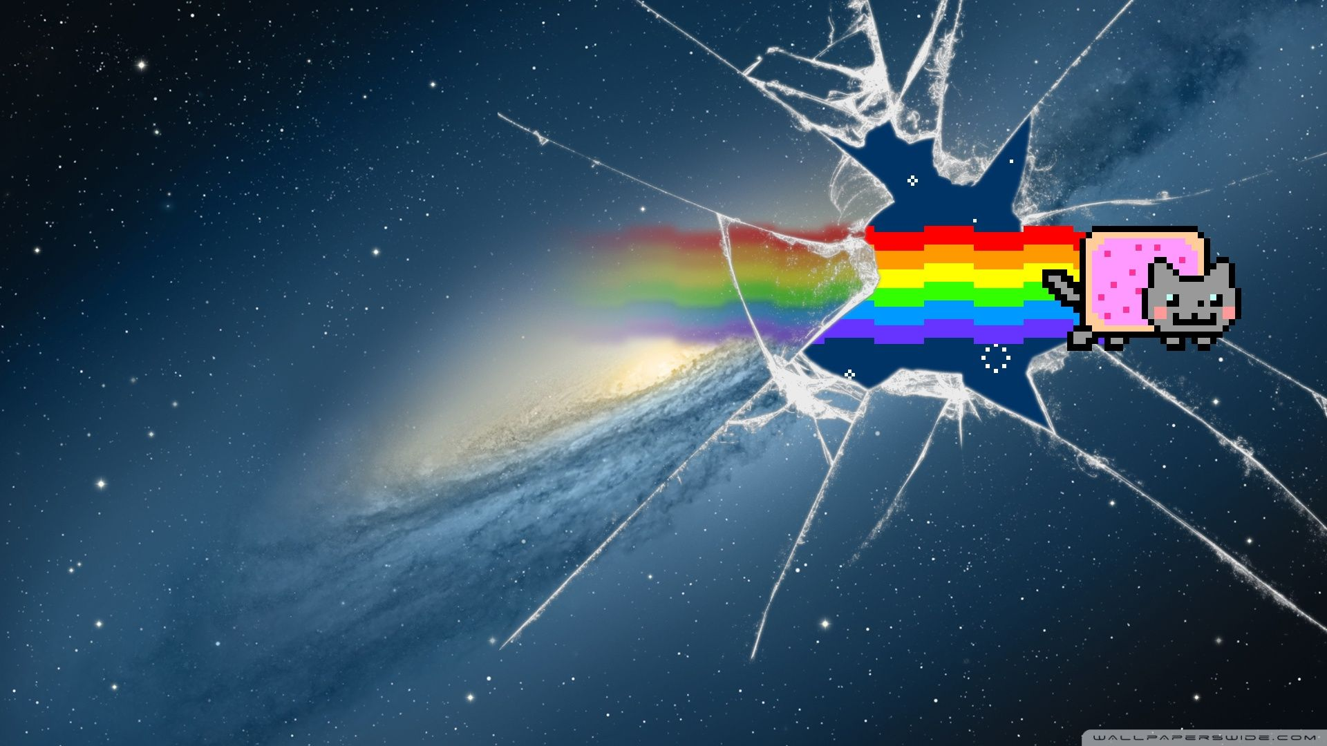 Pin By Mark On Anything And Everything Nyan Cat Cat Wallpaper Anime Wallpaper