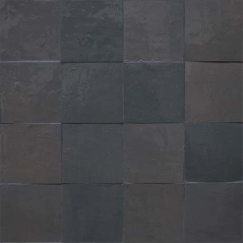 Fez Tiles in Stormy Gray Color, 4 inch by 4 inch square tiles ...