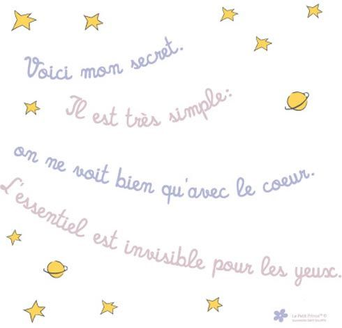 Loja Virtual De Decoracao Divertida Objetos De Design E Presentes Originais Le Petit Prince Le Petit Prince Citation Etre Heureux Citation