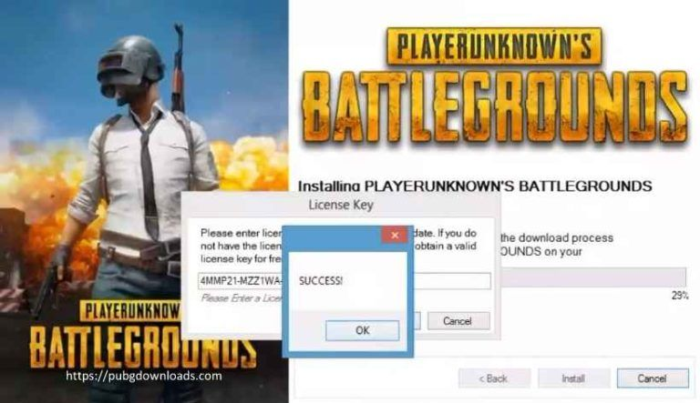 pubg licence key free download for pc